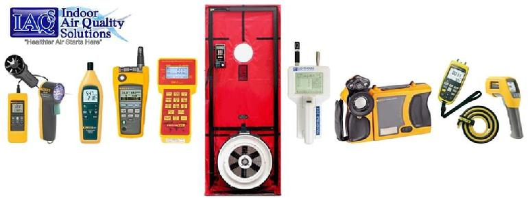 IAQ Solutions HVAC Assessment Equipment